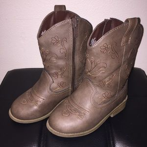 Girl's Cowgirl Boots (size 9) 🌻 EUC